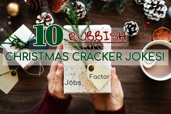 10 Rubbish Christmas Cracker Jokes!