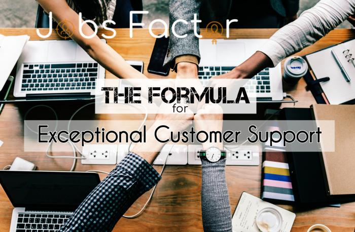 The Formula for Exceptional Customer Support